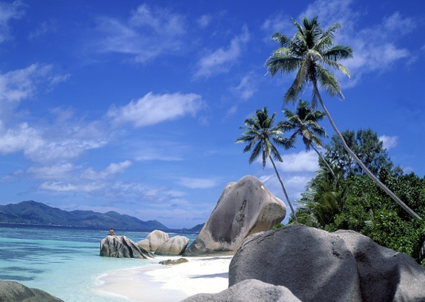 Anse source d'Argent, La Digue, the Seychelles.