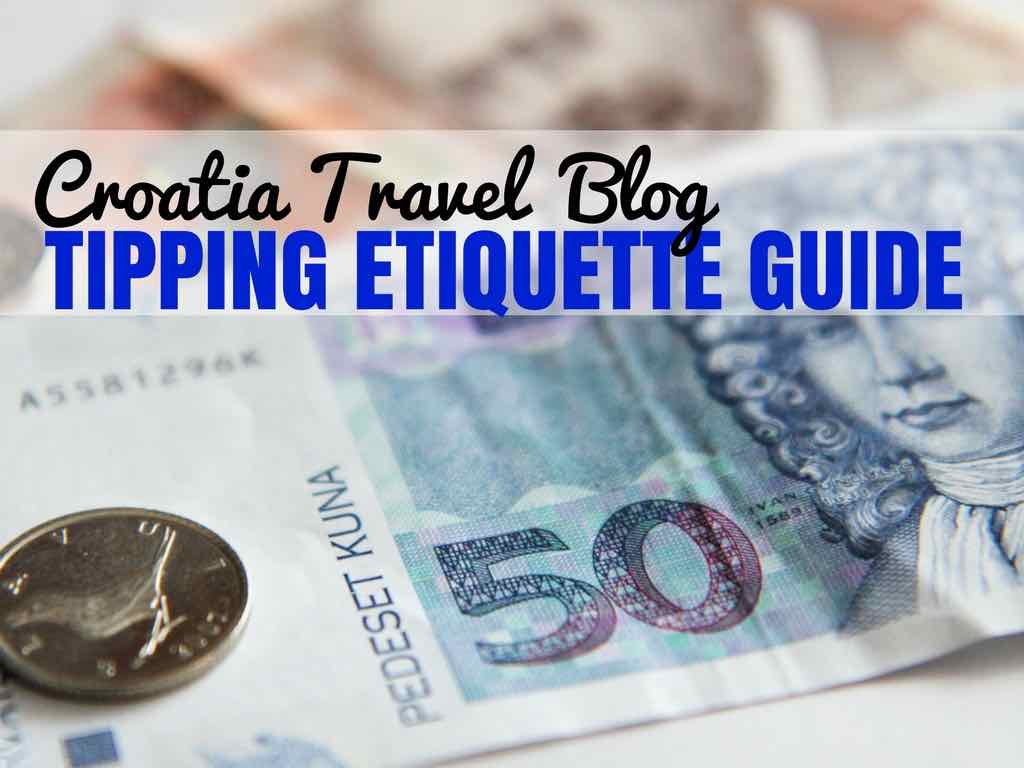 Tipping in Croatia Guide_COVER