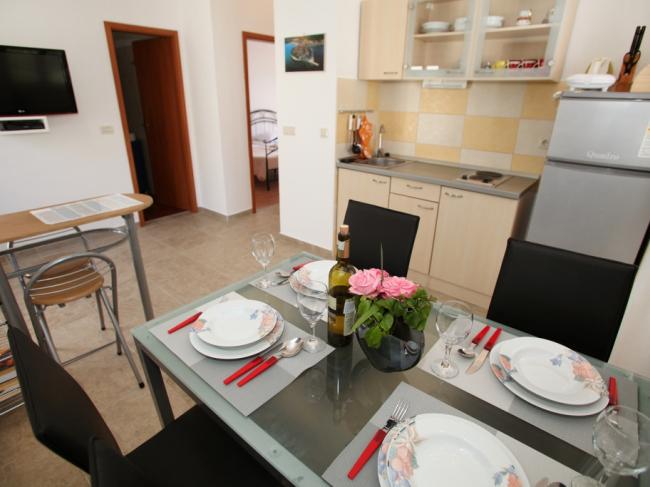 A luxury hotel on the beach near Trogir