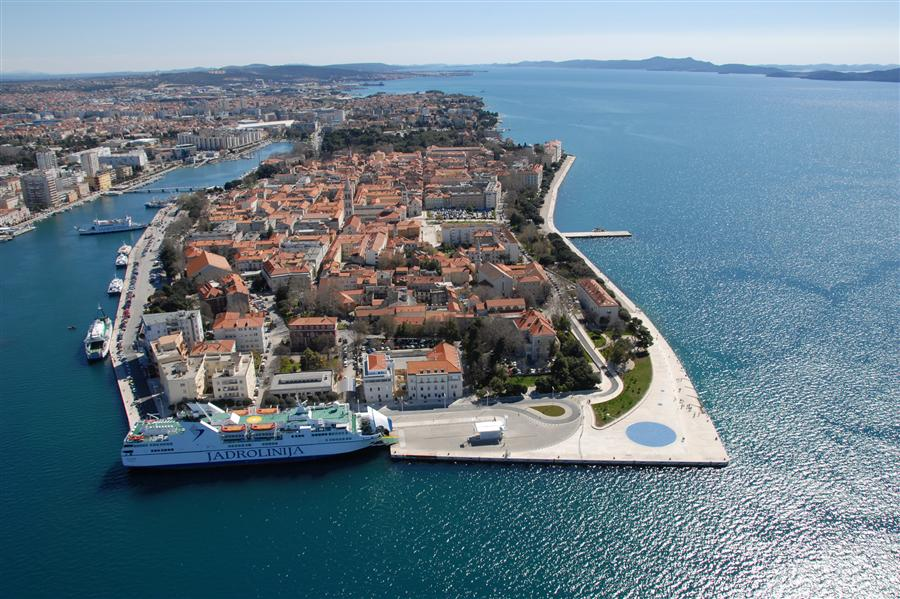 Stunning city in the croatia-Zadar