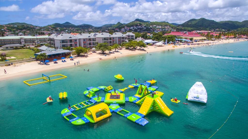 Caribbean famous island-St Lucia