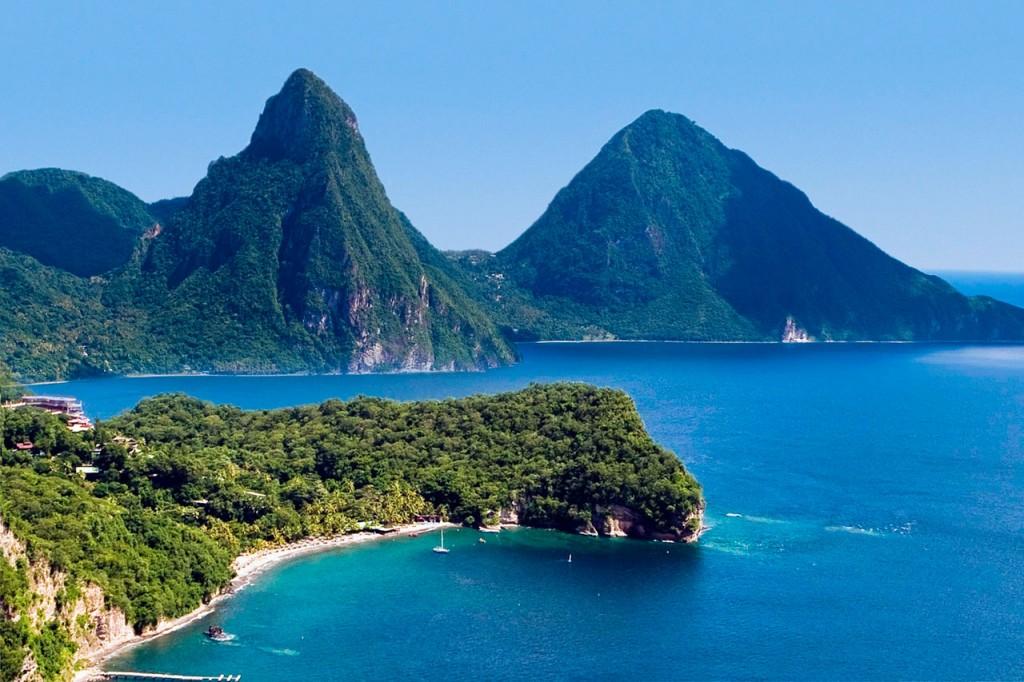 Caribbean famous island-St Lucia 02