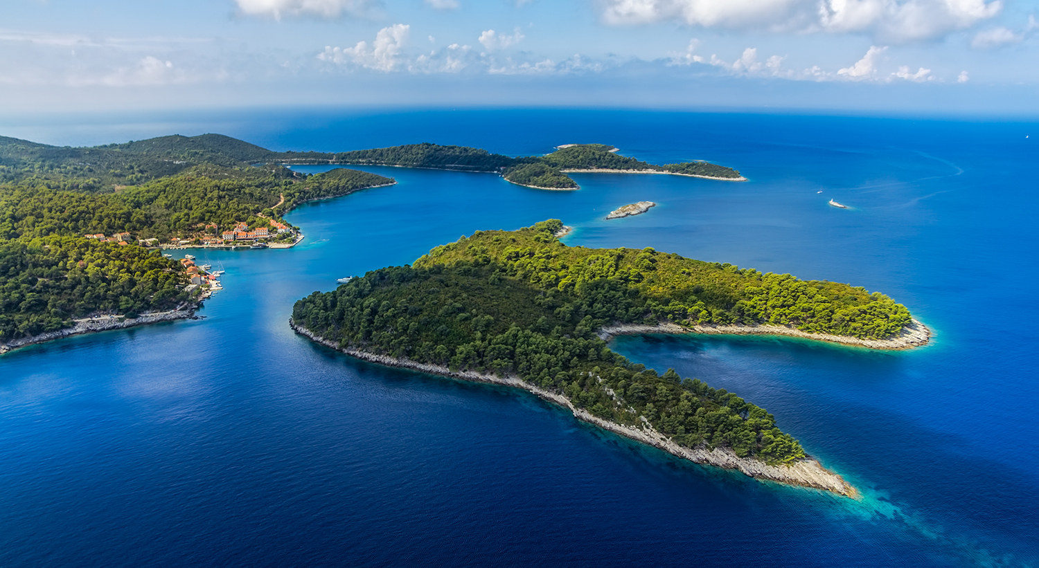 Beautiful Croatia national park-Mljet National Park