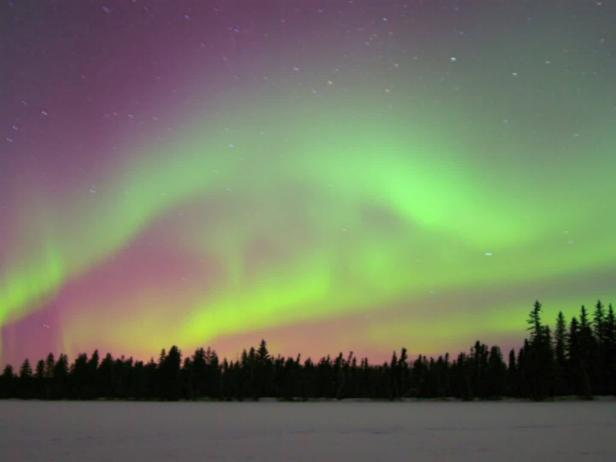 Northern Lights, Alberta, Canada