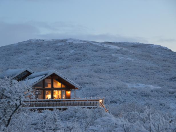 Brekka Cottage, Northern Lights, Iceland