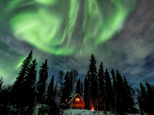 Northern Lights, Fairbanks, Alaska