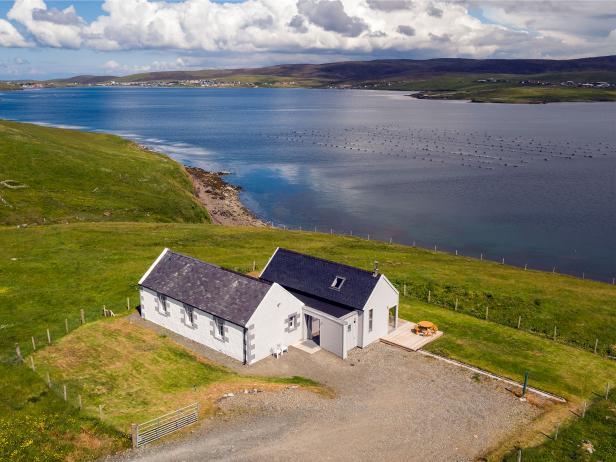 Muckle Roe Chapel, Shetland Islands, Scotland
