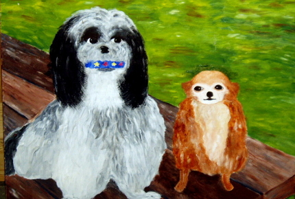 Charlie and Sheba, The Bad Art Museum