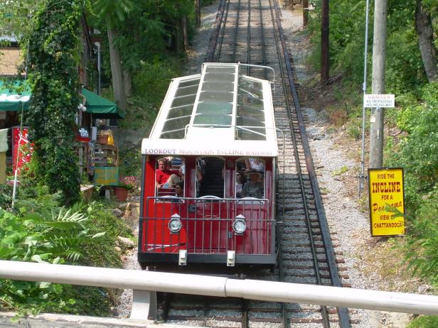 Lookout Mountain Incline Railway, Chattanooga