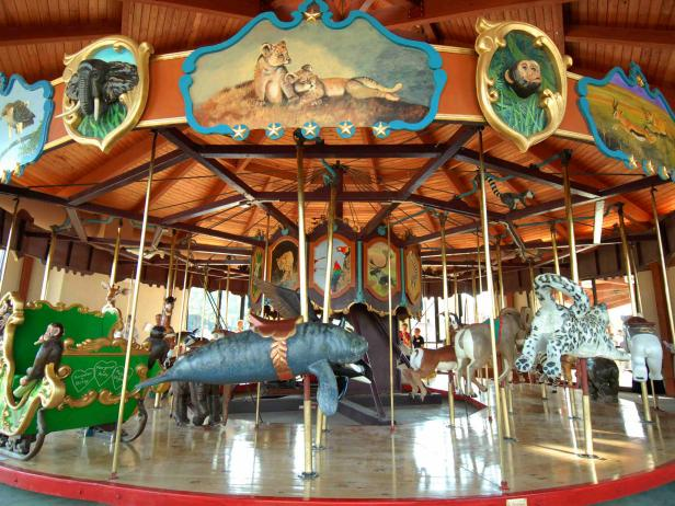 Carousel in Coolidge Park, Chattanoogausel in Coolidge Park, Chattanooga
