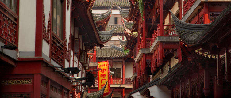 Old Chinatown in Shanghai