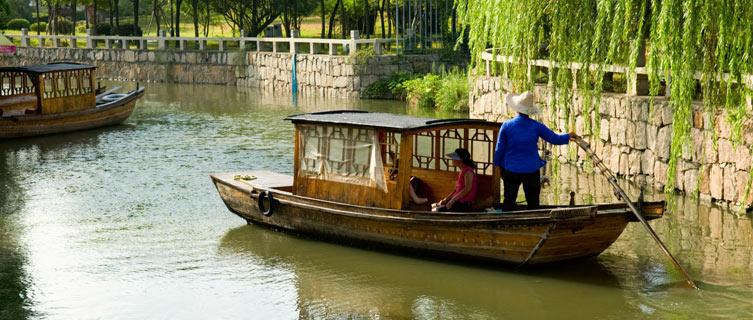 Zhouzhuang has delightful canals