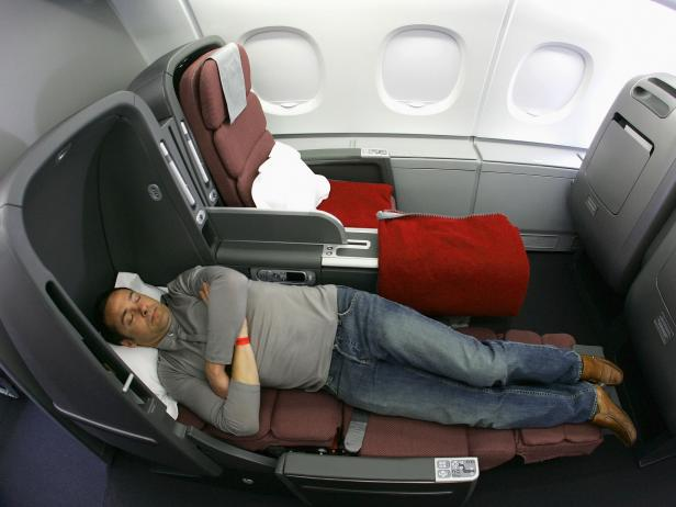 sleep on Airplane