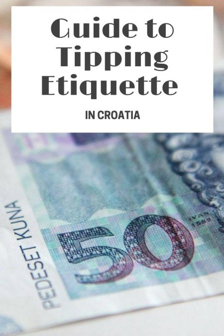 If you're visiting Croatia, there is not a set etiquette for tipping in Croatia, but that certainly doesn't mean that they're not appreciated! Here is how to tip in Croatia.