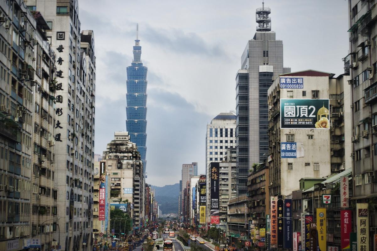 Beautiful view s in Taipei