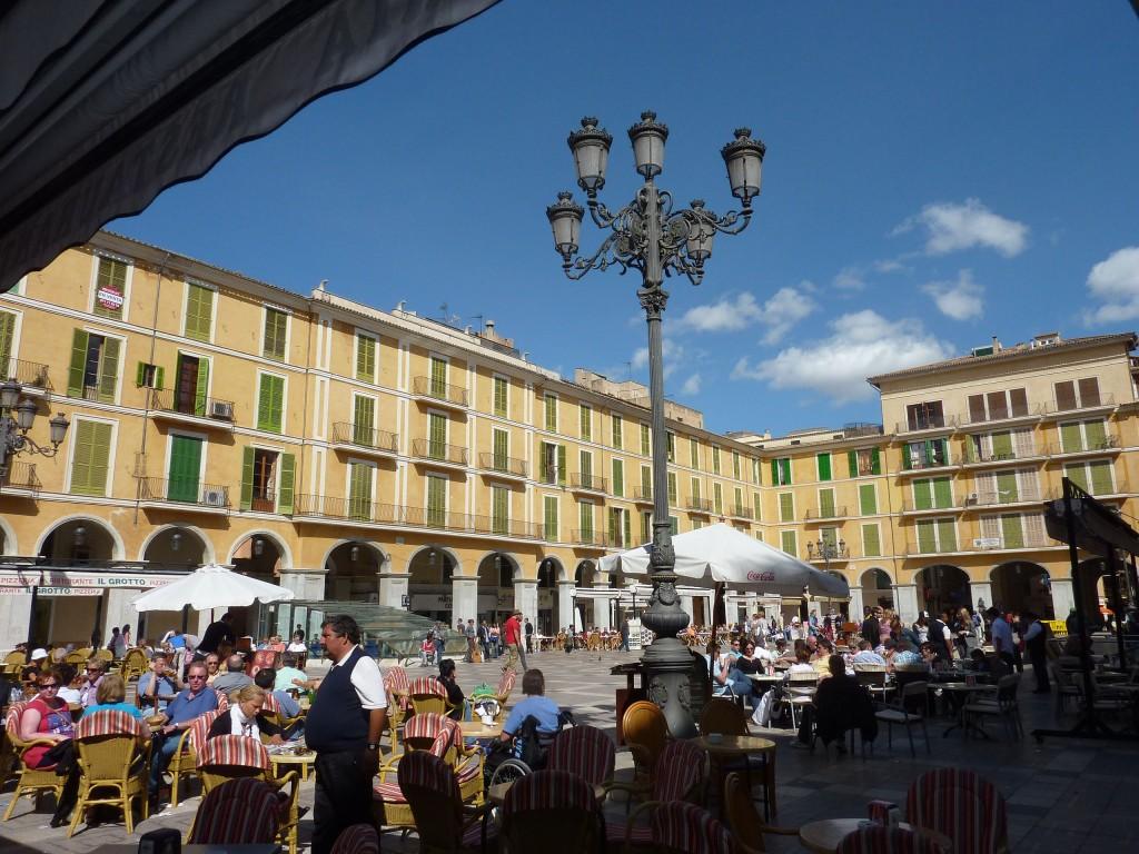 A Beatiful Border City In Spain-Majorca