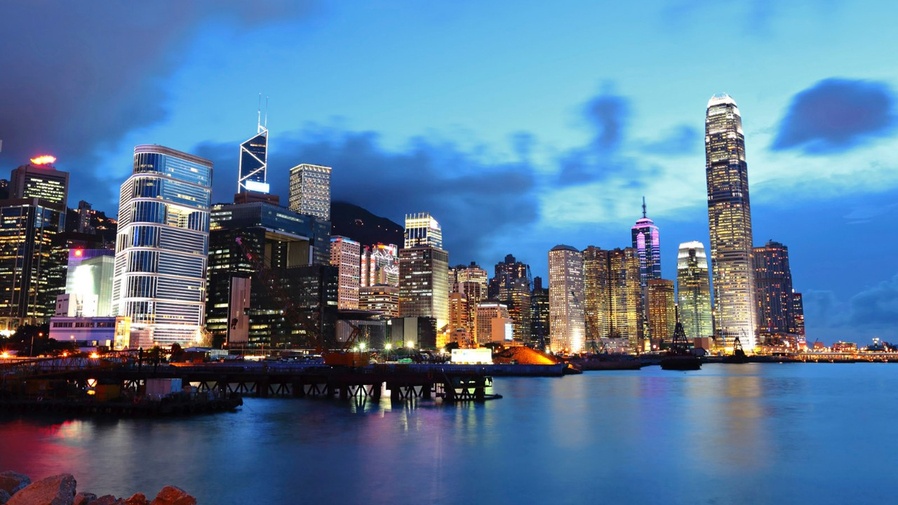 Beautiful Sleepless Metropolis-HongKong