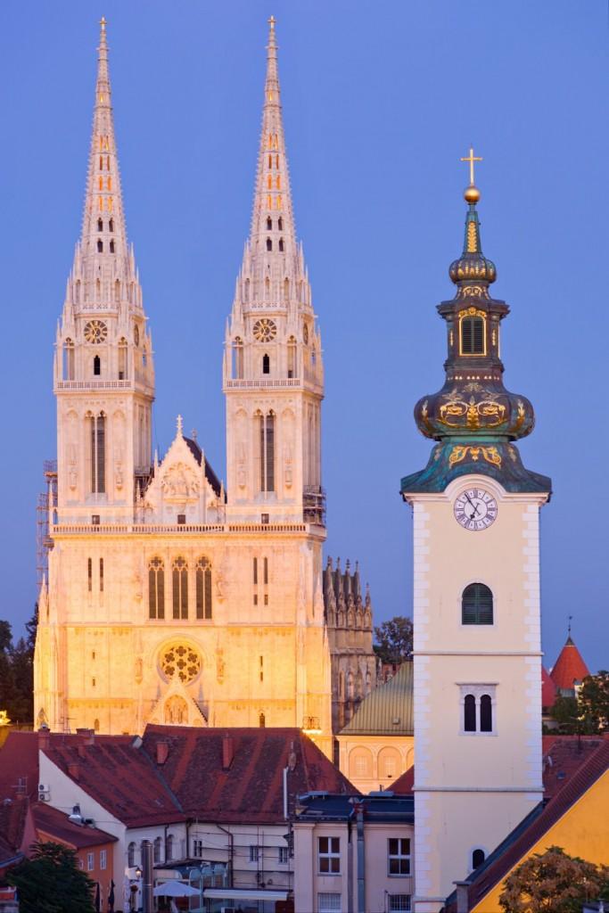 The Capital City Of Croatia-Zagreb