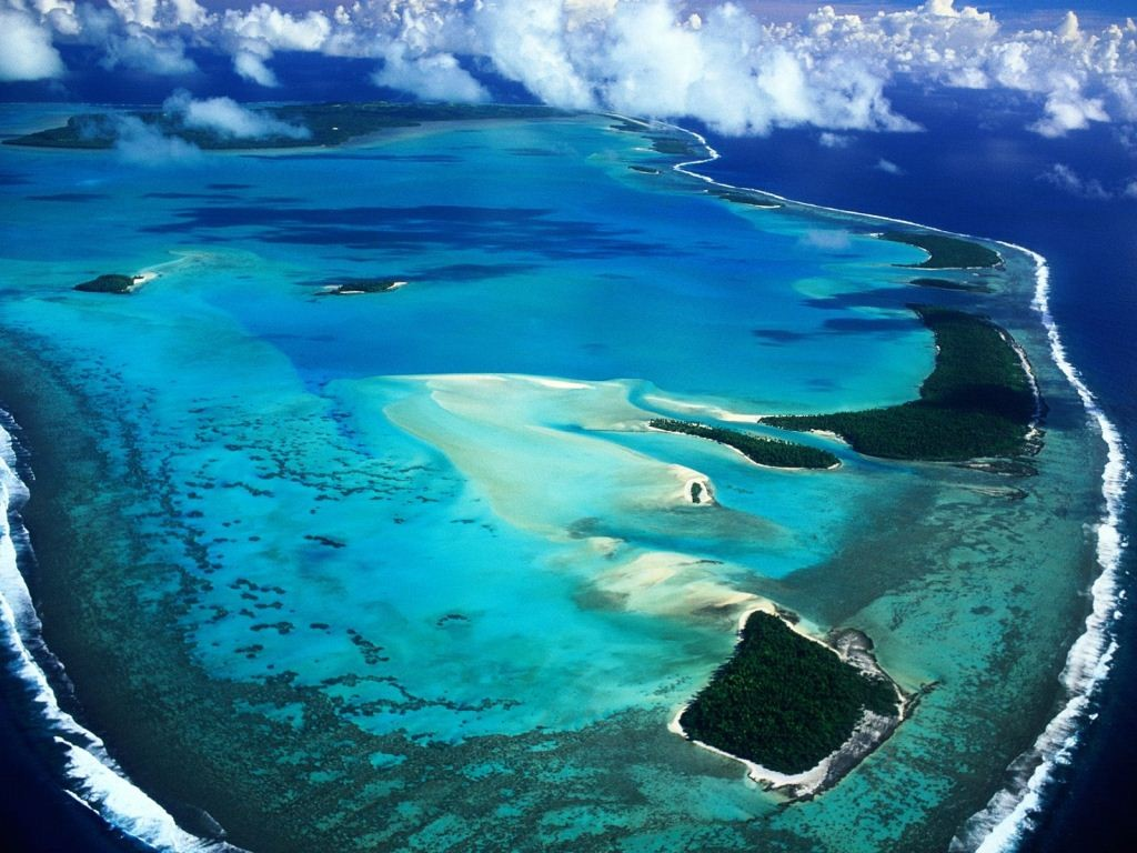 Palmerston Atoll-a remote but beautiful island