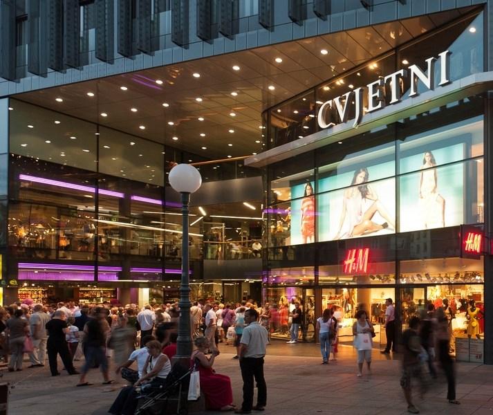 Best shopping mall in Zagreb-Cvjetni center