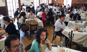 Diners at Don Toribio