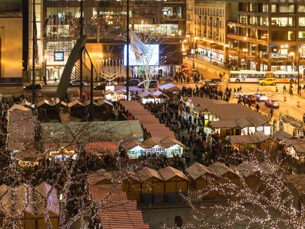 Christkindlmarket in Chicag