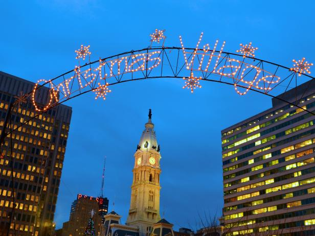 Christmas Village in Philadelphia