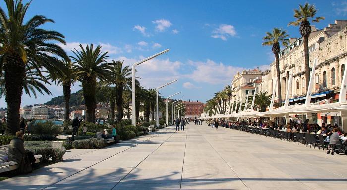 Stroll along seafront promenade
