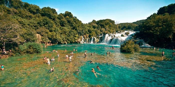 beautiful national park in Croatia